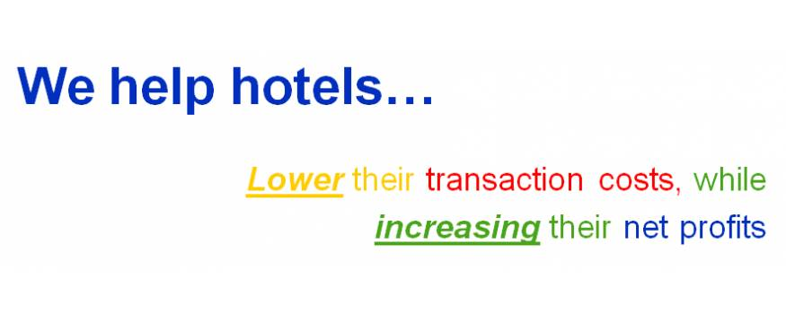 Lower your hotel's Distribution Costs by participating in our straight forward CPC Model