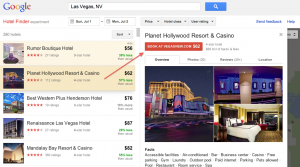 "A new ""Promoted Hotel Ad"" within Google's Hotel Finder.   OTA's can bid to get this exclusive placement, but only Google knows exactly how its selected.  Bid amount + quality score are some of the factors."